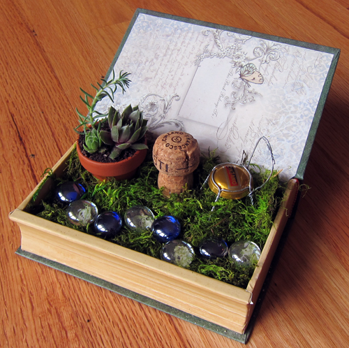 How to Make a Desktop Fairy Garden Remodern Ranch