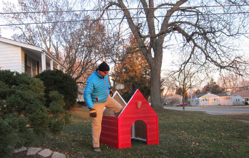 building snoopy s dog house for christmas remodern ranch